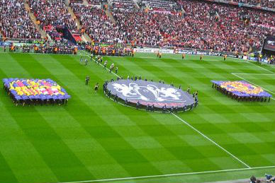Champions League Finale Barcelona vs Man United