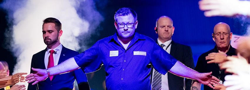 James Wade siegt bei den UK Open 2021