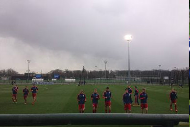 Hertha gegen Barca UEFA Youth League - Hoffenheim - Kiew