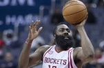 James Harden von den Houston Rockets sammelte im Duell mit den Brooklyn Nets 57 Punkte